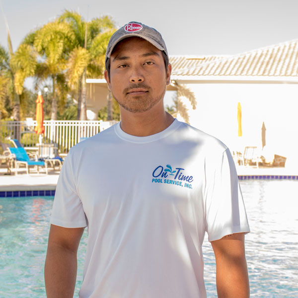Nathan Cruz With On-Time Pool Service