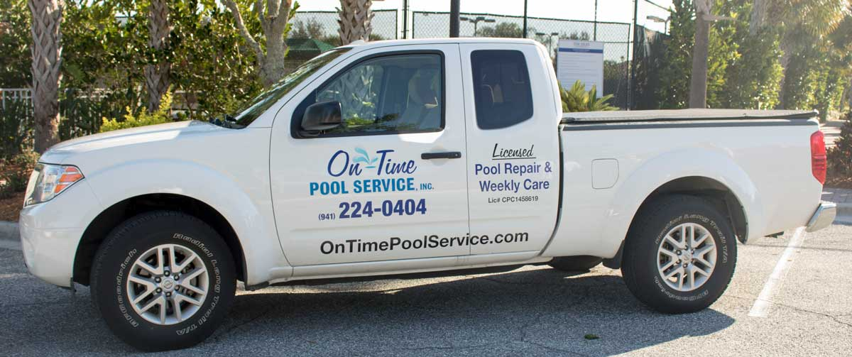 Contact On-Time Pool Service of Sarasota, FL