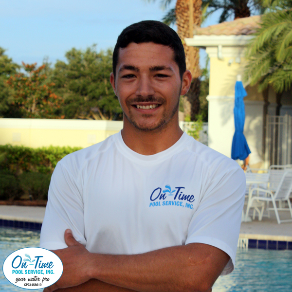 Mike Stokes, Pool Cleaner with On-Time Pool Service