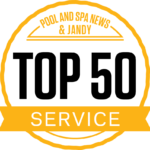 On-Time Pool Service Ranks Fourth in Customer Service, Sarasota, USA.