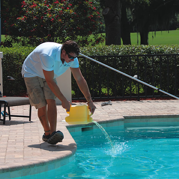 We Keep Your Pool Chemicals Balanced
