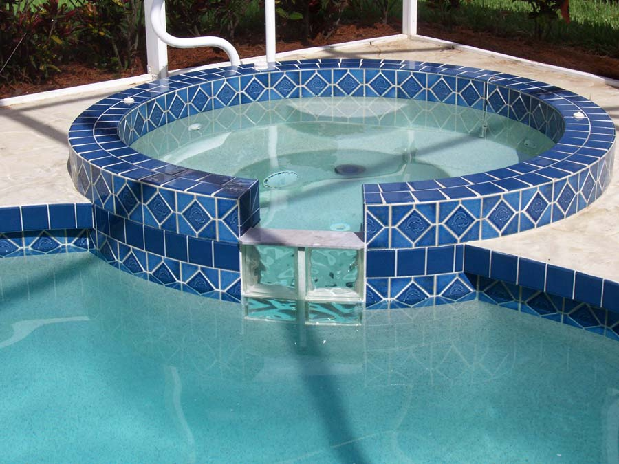 After Calcium Stain Removal - Pool Cleaning Sarasota