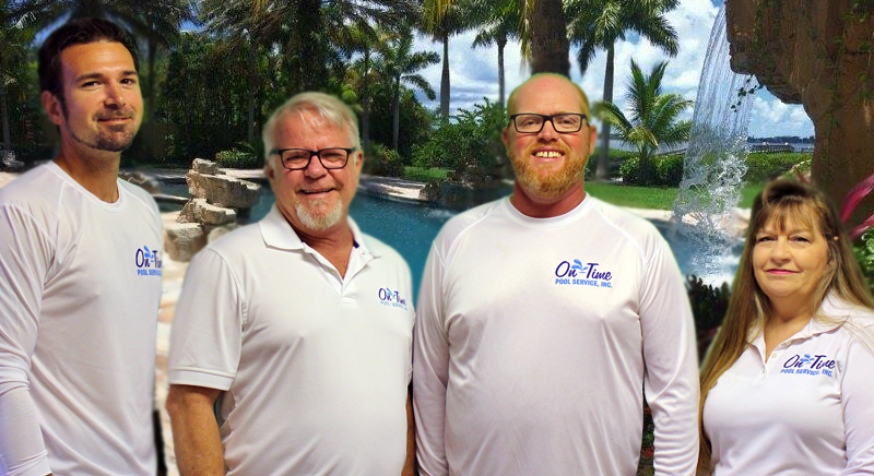 On-Time Pool Service Management Team
