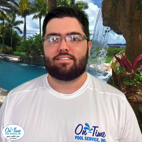 Justin Reynolds With On-Time Pool Service